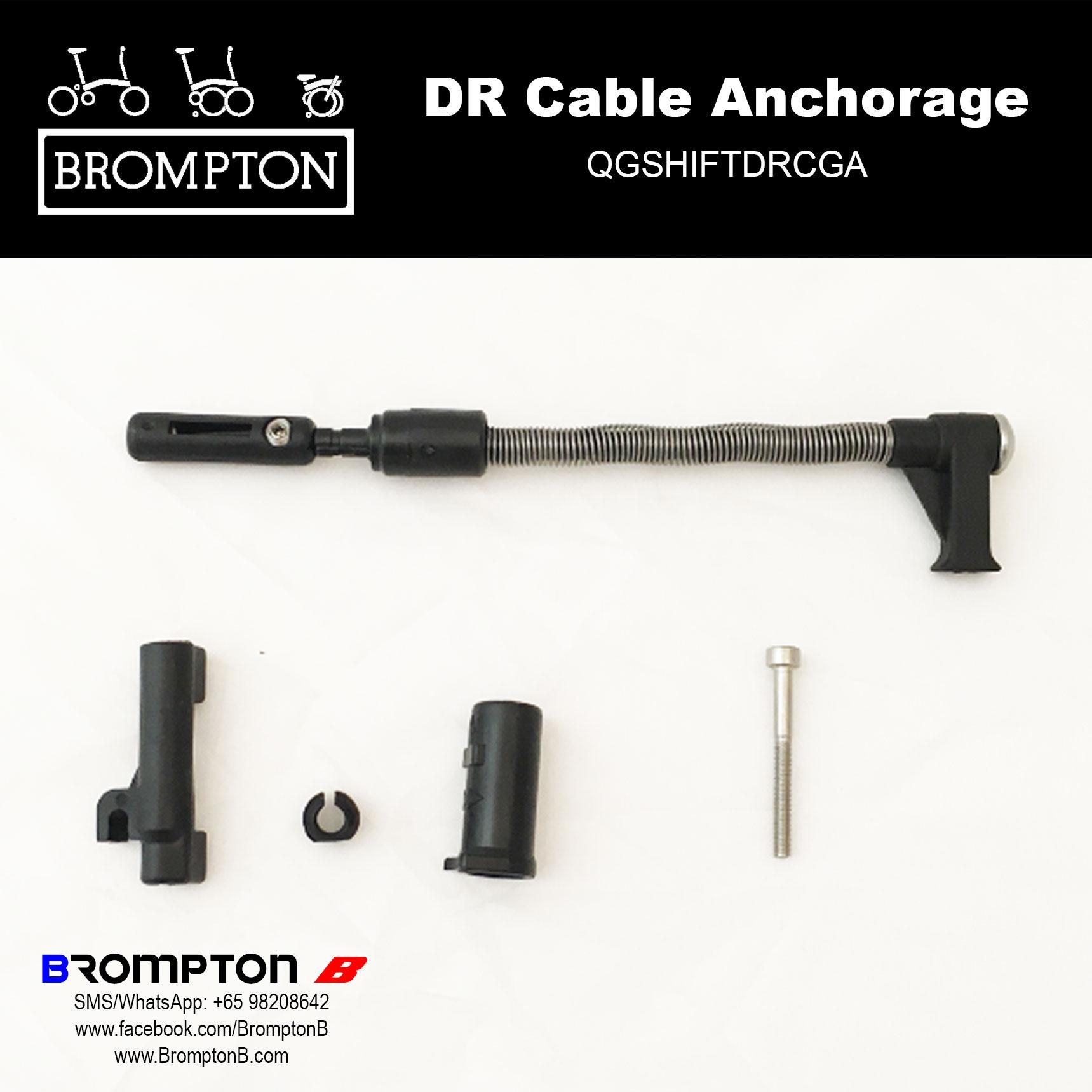 Brompton Deraileur Cable Anchorage Set 2017